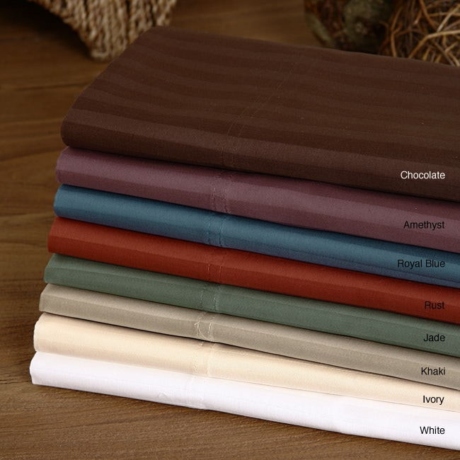 Westport Home Sateen 450 Thread Count California King Sheet Set