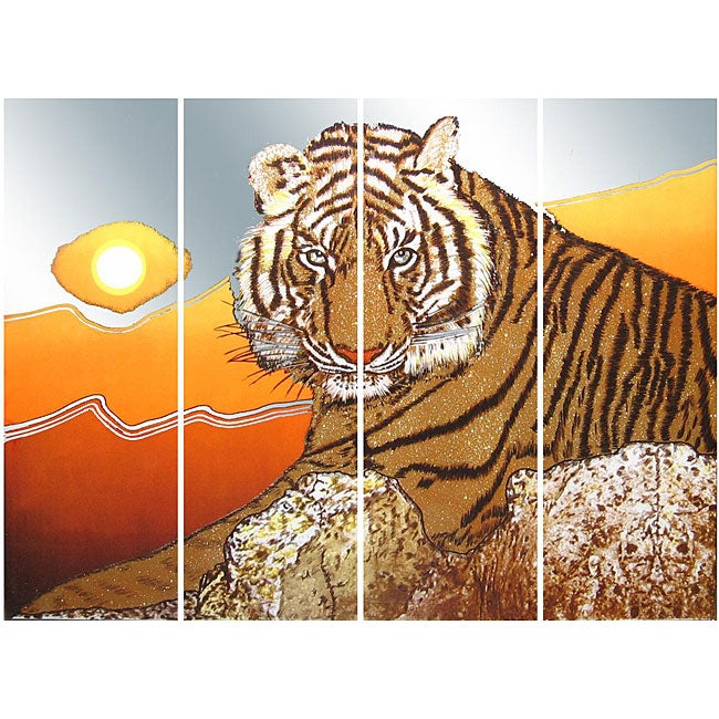 Sunset Tiger Wall Mirror