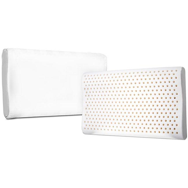 Latex Ergonomic Contour 4-pound Pillow (Set of 2)