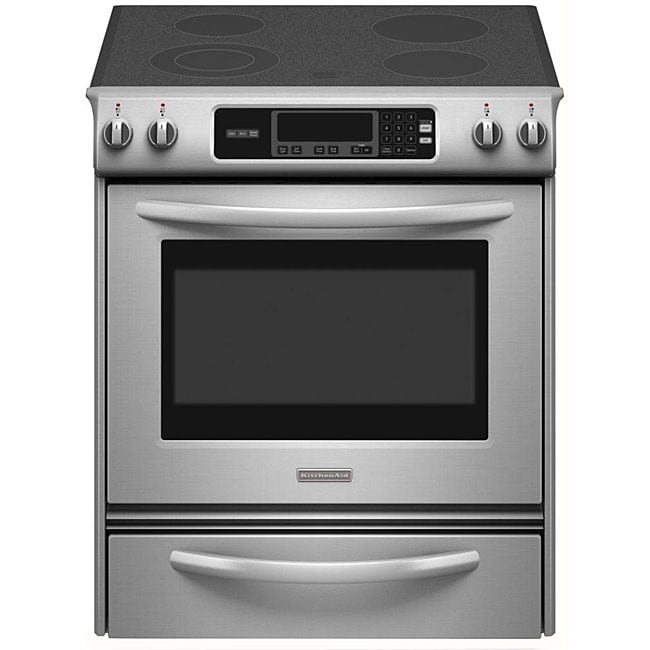 Kitchenaid Architect Series Ii Slide In Electric Range Thermal Oven