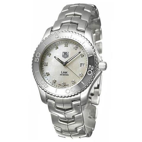 Tag Heuer Men's WJ1114.BA0575 'Link' Stainless Steel Watch