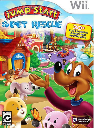 Wii - Jumpstart Pet Rescue