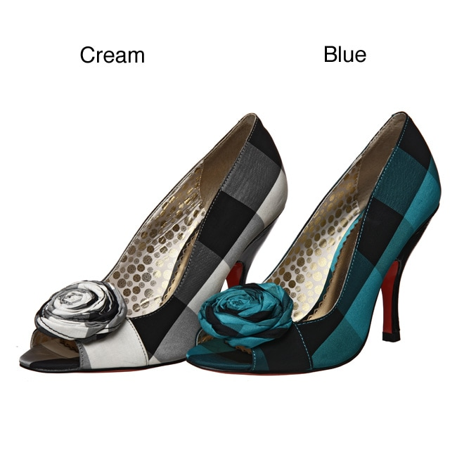 2c254a771c723 Shop Poetic Licence 'Good Vibrations' Plaid Pumps - Free Shipping On Orders  Over $45 - Overstock - 4771800