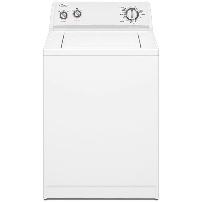 Whirlpool 3 2 Cubic Foot White On White Top Load Washer