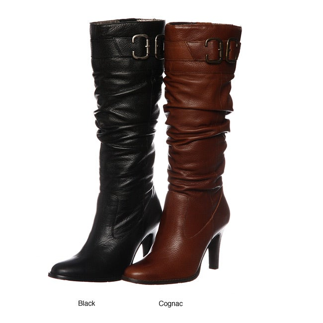 9a82f953e Shop Matisse Women's 'Penny' Leather Mid-calf Boots - Free Shipping Today -  Overstock - 4772337