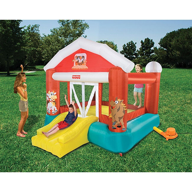 Shop Fisher Price Barnyard Bouncer Free Shipping Today Overstock