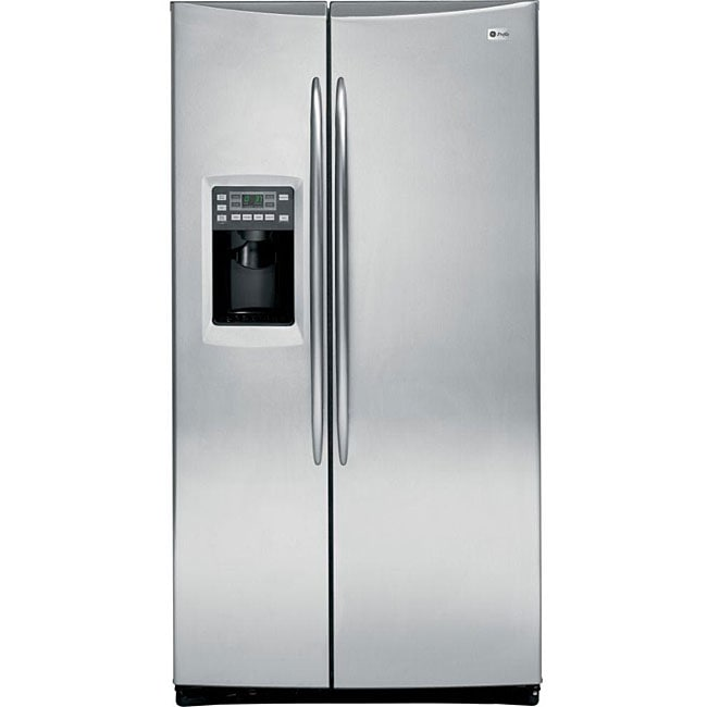 GE Profile 25.6-cubic-foot Stainless Steel Refrigerator with Dispenser