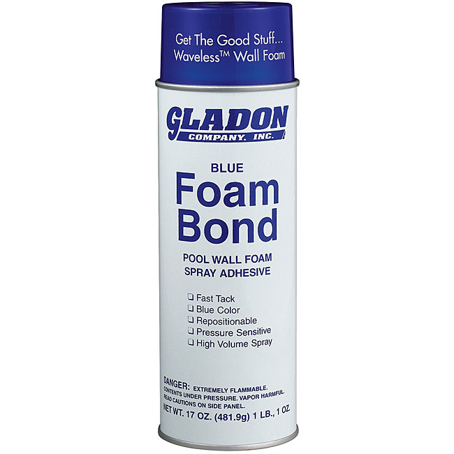 Gladon 17 oz. Spray Adhesive for Pool Wall Foam