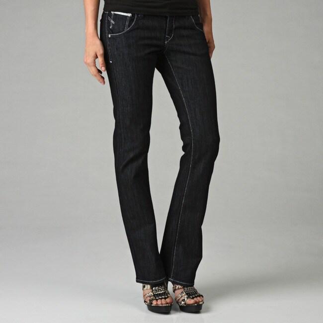 fda04f6e342 Shop Mavi Women's 'Olivia' Rinse Edge Low Rise Jeans - Free Shipping On  Orders Over $45 - Overstock - 4777545