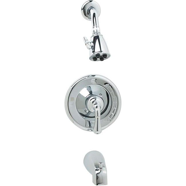 3 Piece Faucet : DeNovo Quantum Chrome 3-piece Tub and Shower Faucet Set - Free ...
