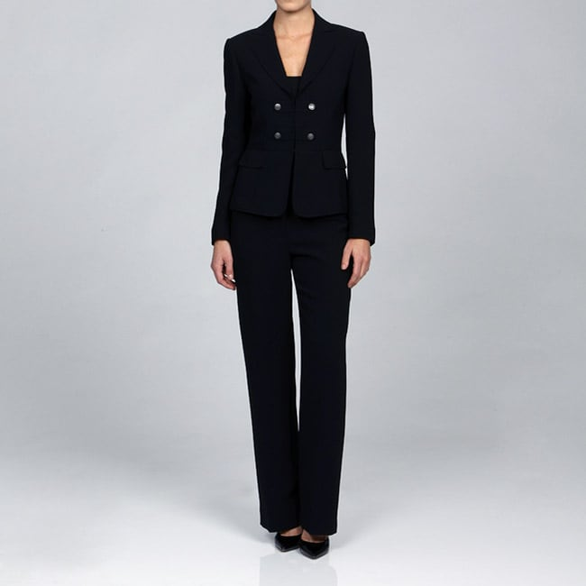 Tahari ASL Women's Double Breasted Pant Suit - Free Shipping Today ...