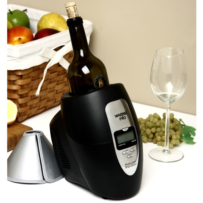 Waring pro single bottle wine chiller