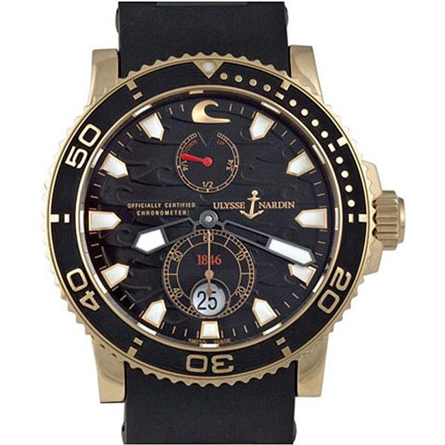 Ulysse Nardin Men's Black Surf Limited Edition Watch - Thumbnail 0