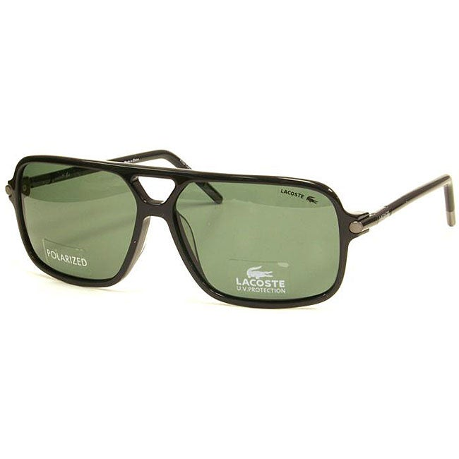 70cc7070bb8 Shop Lacoste Men s LA12444P Polarized Sunglasses - Free Shipping ...