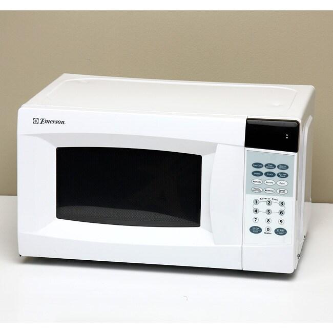 Emerson Mw7300w 0 7 Cubic Foot 700 Watt Touch Microwave
