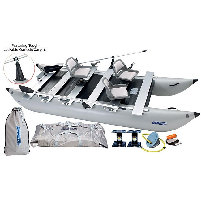 Sea Eagle FoldCat 440FC Foldable Pontoon Boat
