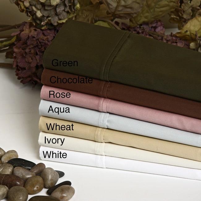Luxury Home Egyptian Cotton 515 Thread Count 6-piece Sheet Set