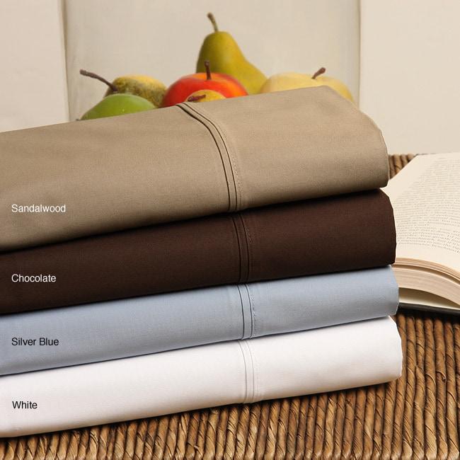 Heavyweight 800 Thread Count Sateen Sheet Set with Bonus Pillowcases