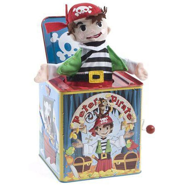 Schylling PPJB Peter Pirate Jack-in-the-Box