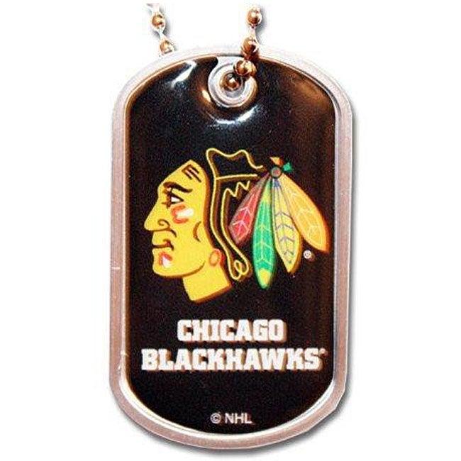 Chicago Blackhawks Dog Tag Necklace