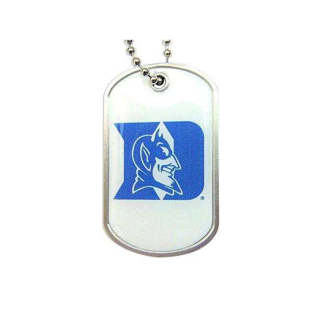 Duke Blue Devils Dog Tag Necklace