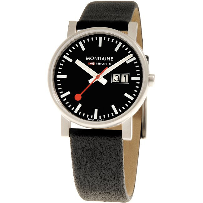 Mondaine Men's Swiss Railway Evo Watch