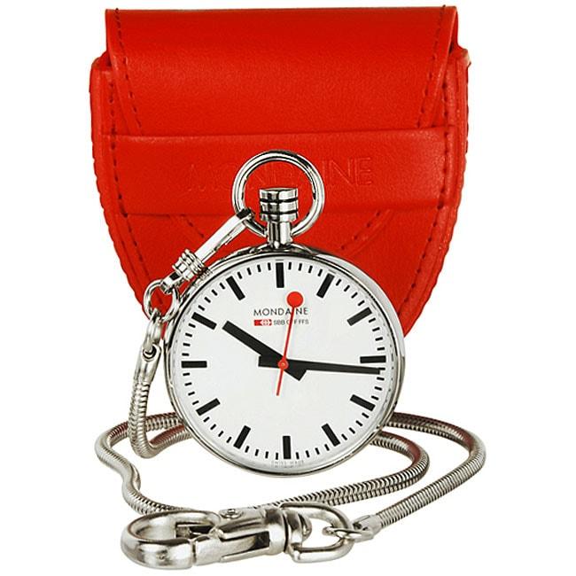 Mondaine Swiss Railway Pocket Travel Clock Free Shipping Today 12695355