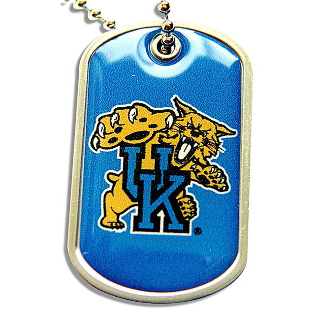 University of Kentucky Wildcats Dog Tag Necklace