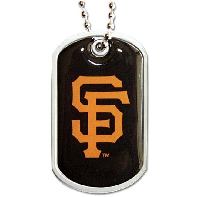 San Francisco Giants MLB Dog Tag Necklace