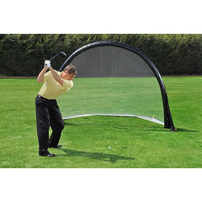 Air Net Air-powered Nylon Sports Net with Plastic Frame (9' x 7')