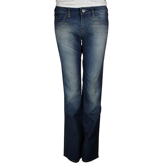 Miss Sixty Women's 'Mary J' Low Rise Straight Leg Jeans