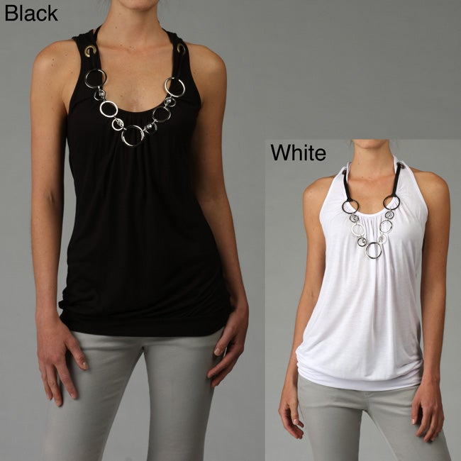 Simply Irresistible Women's Necklace Tank Top