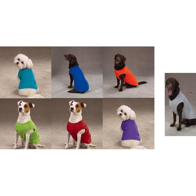 Assorted Color X-small Dog Tank Tops (Set of 7)