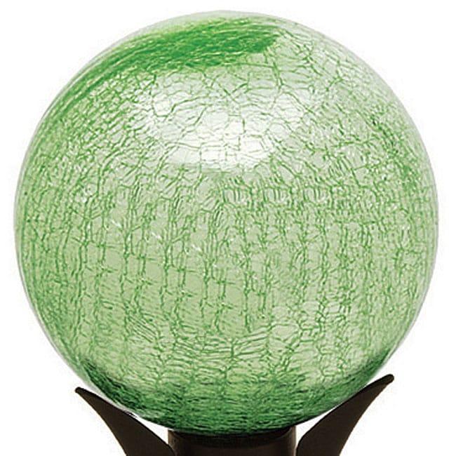 Shop Achla 10 Inch Light Green Crackle Gazing Globe Free