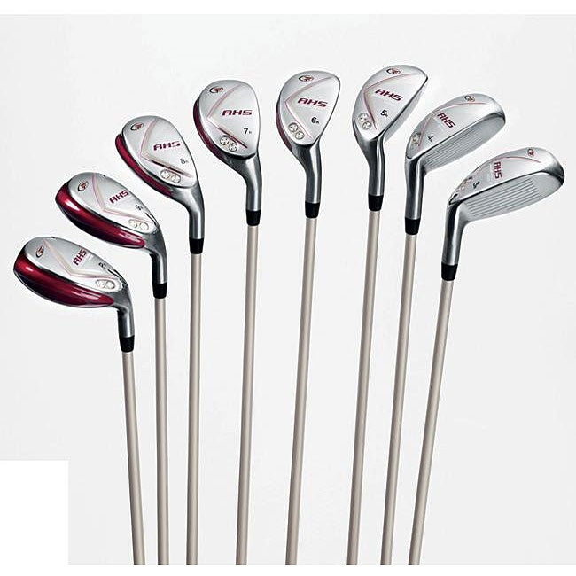 Top Flite Women's Advanced Hybrid System 8-piece Golf Set ...