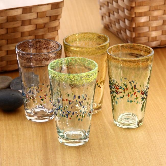 Global Amici Sunrise Ice Tea Glasses (Set of 4)