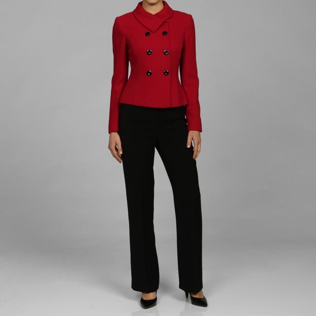 Calvin Klein Women's Double Breasted Pant Suit