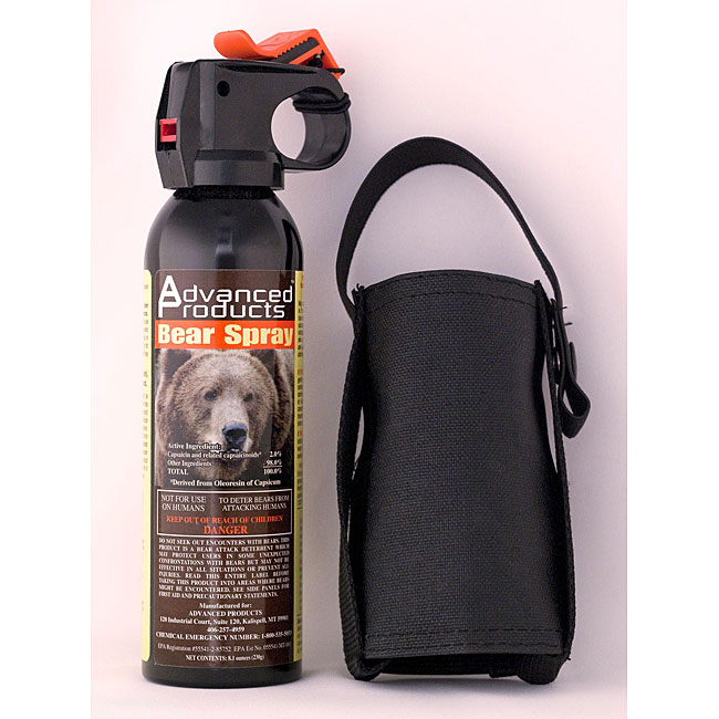 Advanced Products 10.2-oz Bear Deterrent and Holster