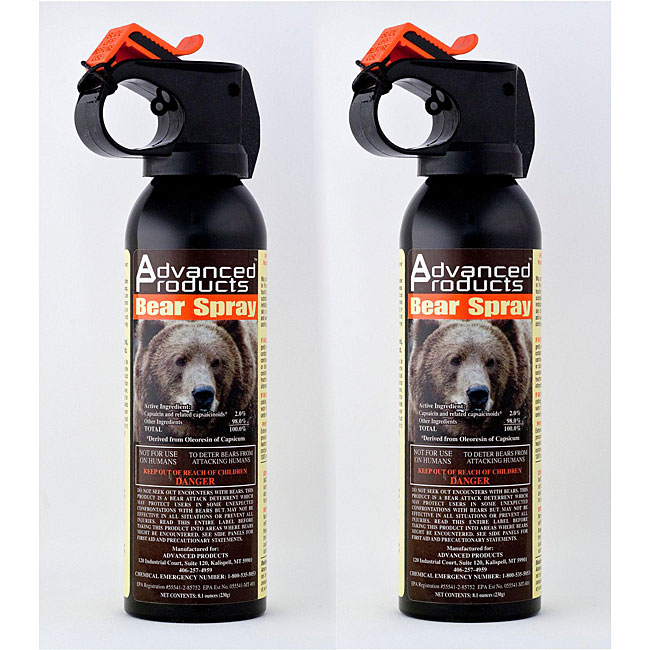 Advanced Products 10.2-oz Bear Deterrents (Pack of 2)
