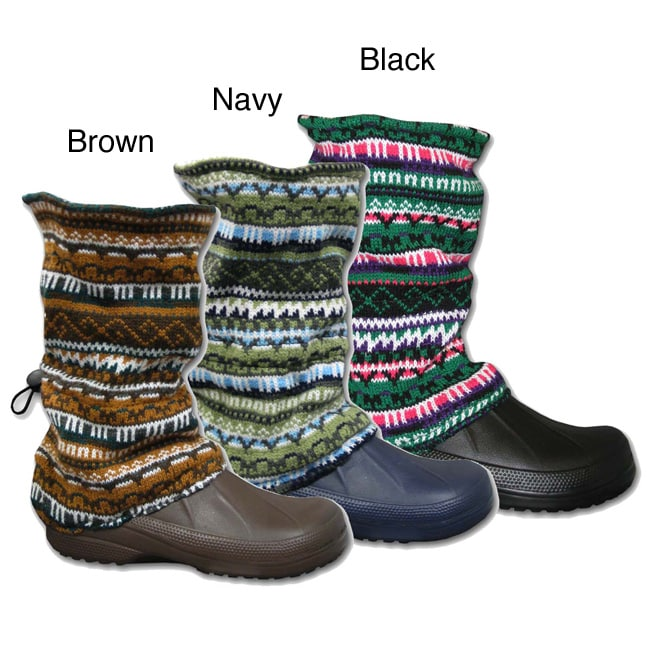 Muk Luks Women's ComforTemp Puddle Boots