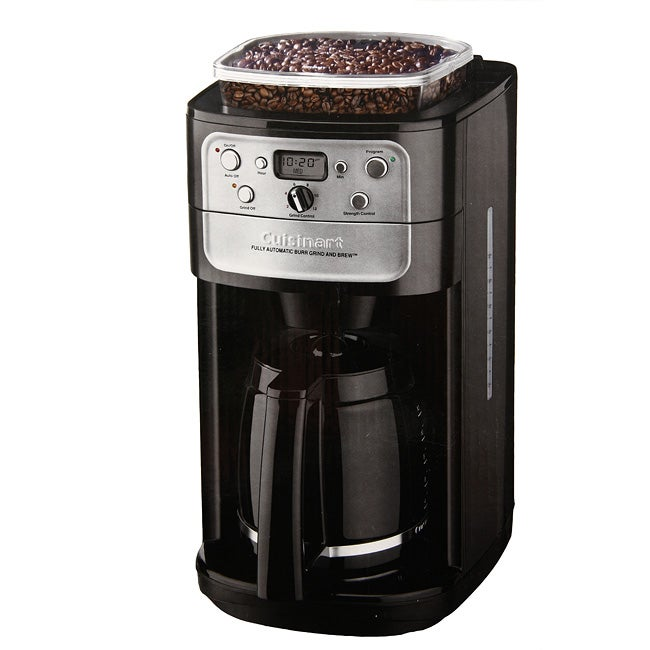 Ge Coffee Maker And Grinder : Cuisinart DCC-790PC Grind and Brew 12-cup Coffee Maker - Free Shipping Today - Overstock.com ...