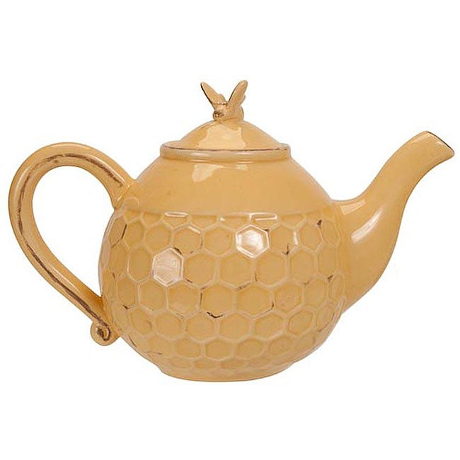Bumble Bee Ceramic Teapot Free Shipping On Orders Over
