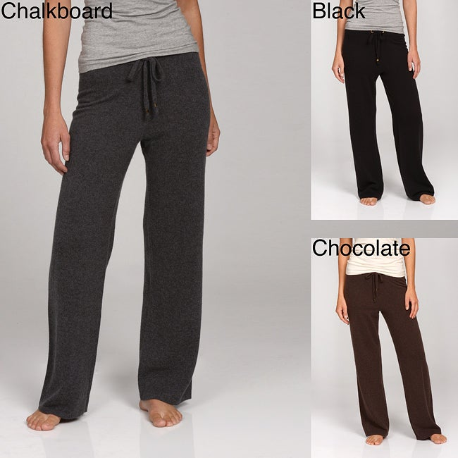 Oliver & James Women's Cashmere Drawstring Pants