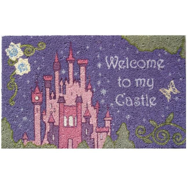 Disney Welcome To My Castle Doormat 1 6 X 2 6 Free