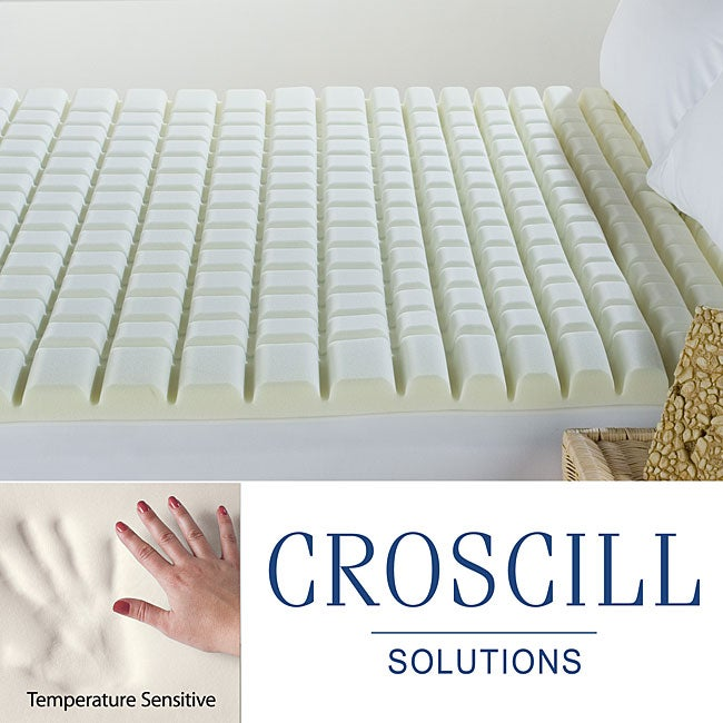 Croscill Geo-max Eco-Smart Memory Foam Queen/ King/ Cal King- Size Topper