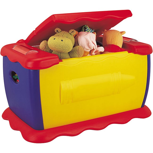 Shop Crayola Draw N Store Giant Toy Box On Sale Free