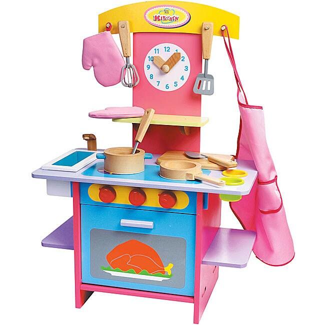 Parkfield Deluxe Wooden Kitchen Playset