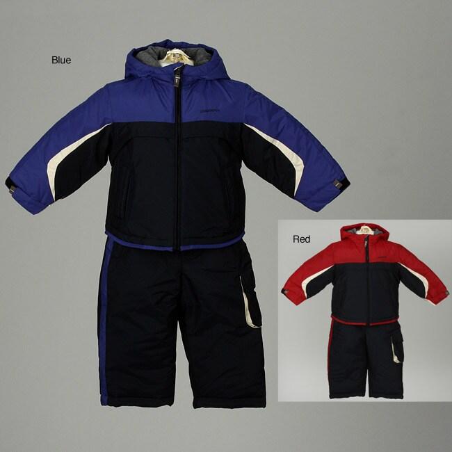 London Fog Toddler Boy's Colorblocked 2-Piece Snowsuit