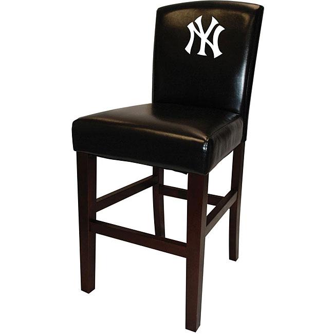 Mlb New York Yankees Bar Stools Set Of 2 Free Shipping