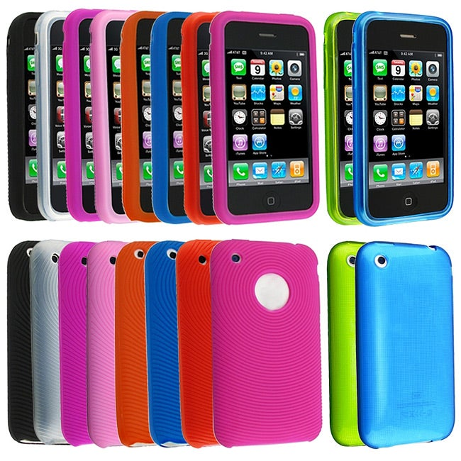 Silicone Cases for Apple iPhone (Pack of 10)